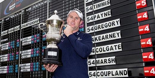 Caldwell wins Cobra Puma Golf Championship